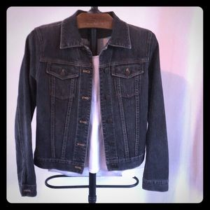 EUC Gap Black Denim Jacket